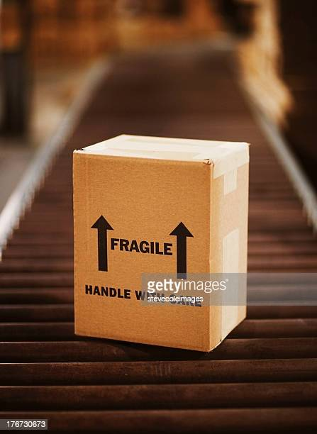 shipping merchandise - fragile sign stock pictures, royalty-free photos & images
