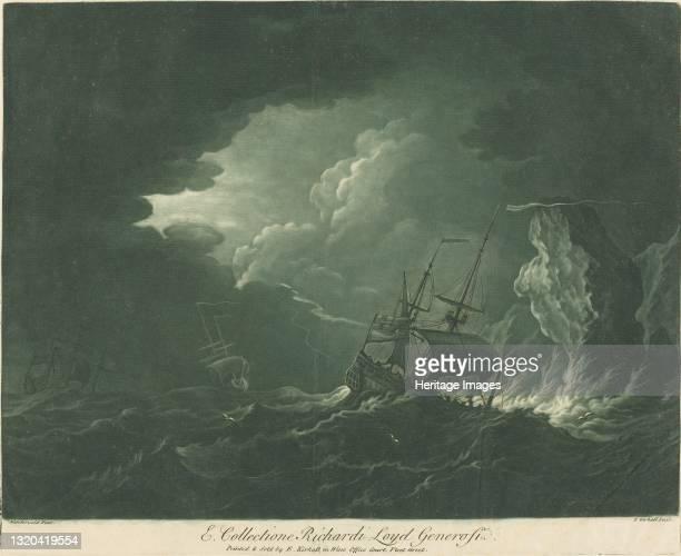 Shipping Scene from the Collection of Richard Lloyd, 1720s. Artist Elisha Kirkall.
