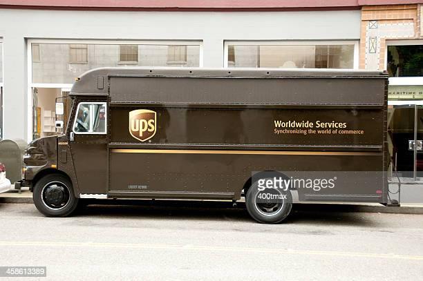UPS Lieferung LKW