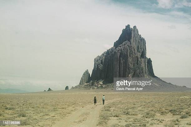 shiprock - shiprock stock photos and pictures
