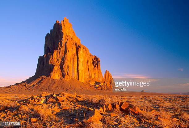 shiprock - new mexico stock pictures, royalty-free photos & images