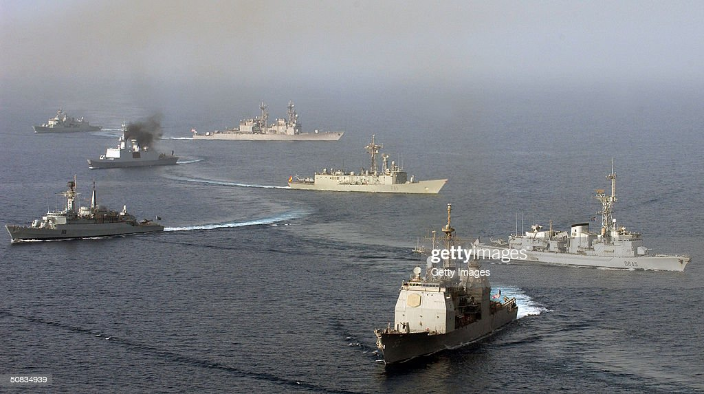 Combined Task Force 150 Gulg of Oman : News Photo