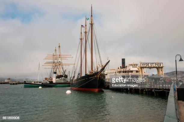 Ships at the Maritime Museum San Francisco California
