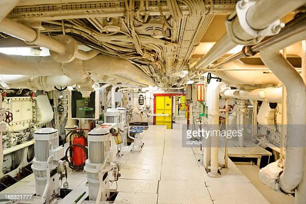 Schiff s Maschinenraum