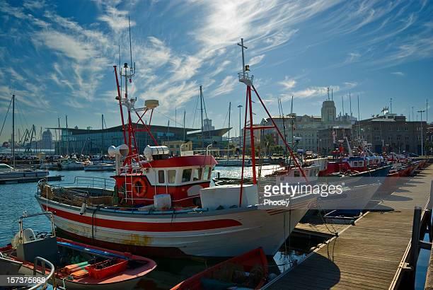 ships in coruña - a coruña stock pictures, royalty-free photos & images
