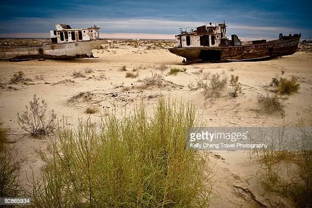 Ships of Aral Sea