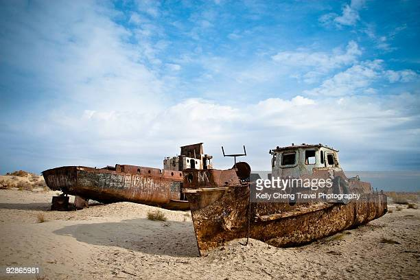 Ships of Aral Sea