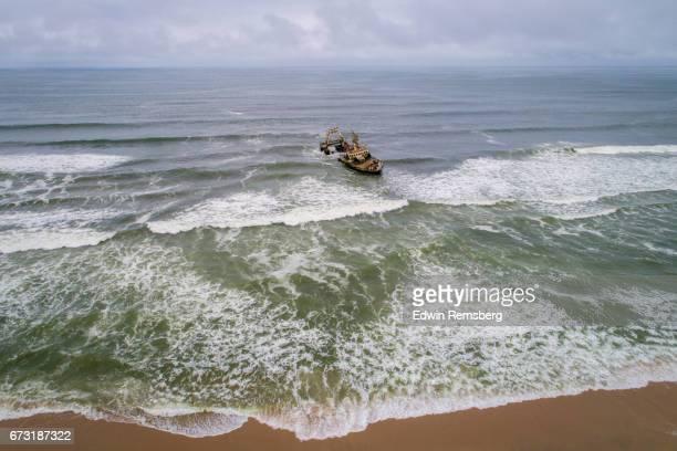 Shipwreck in Namibia