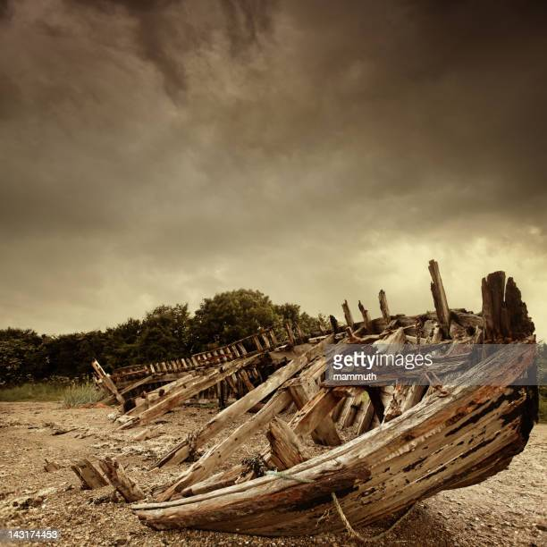 shipwreck - ancient stock pictures, royalty-free photos & images