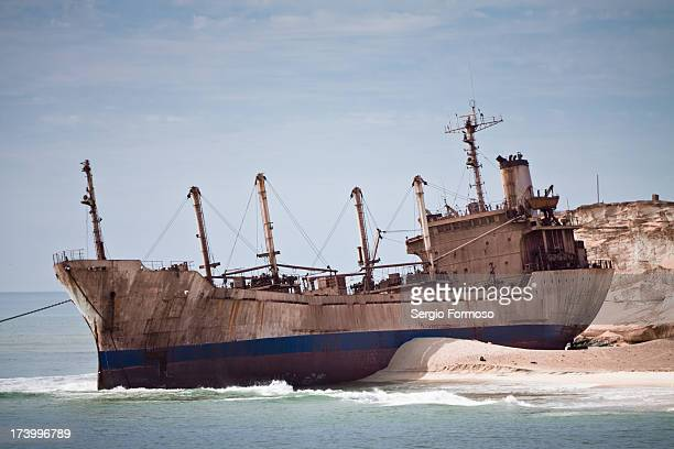 Shipwreck United Malika at Ras Nouadhibou