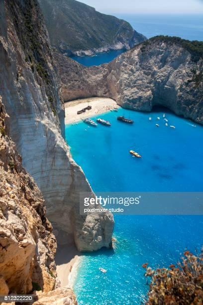 Shipwrek Beach,Zakynthos,Greece