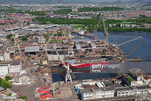 shipyard - equipamento stock pictures, royalty-free photos & images