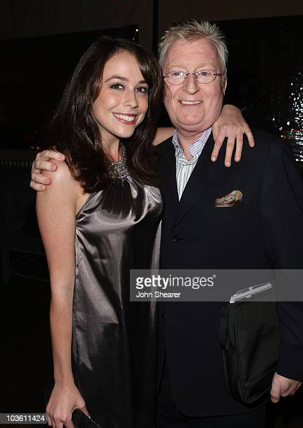 Shira Lazar and John Evans at the after party for the Hamilton Behind the Camera Awards Hosted by Hollywood Life at The Highlands on November 11,...