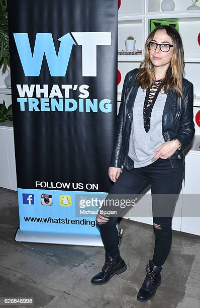 Shira Lazar at Musical.ly And What's Trending Host To Benefit The Pablove Foundation at Musical.ly HQ on November 30, 2016 in Los Angeles, California.