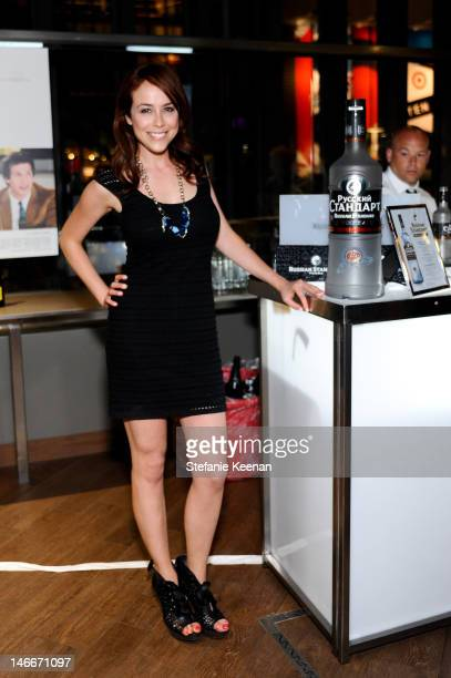 "Shira Lazar attends Russian Standard Vodka Presents The ""Celeste & Jesse Forever"" LA Film Festival Premiere After Party at FigOly Restaurant on June..."