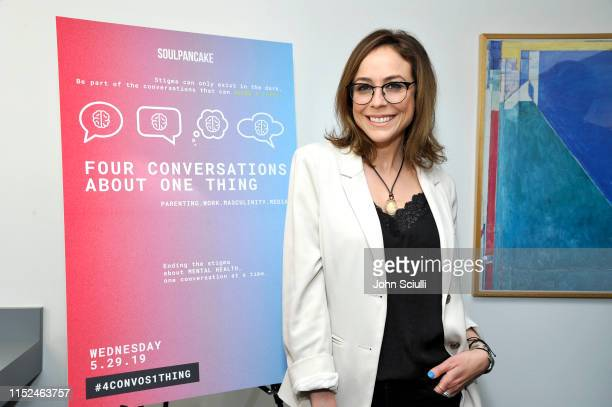 "Shira Lazar attends SoulPancake's ""Four Conversations about One Thing"" at Hammer Museum on May 29, 2019 in Los Angeles, California."