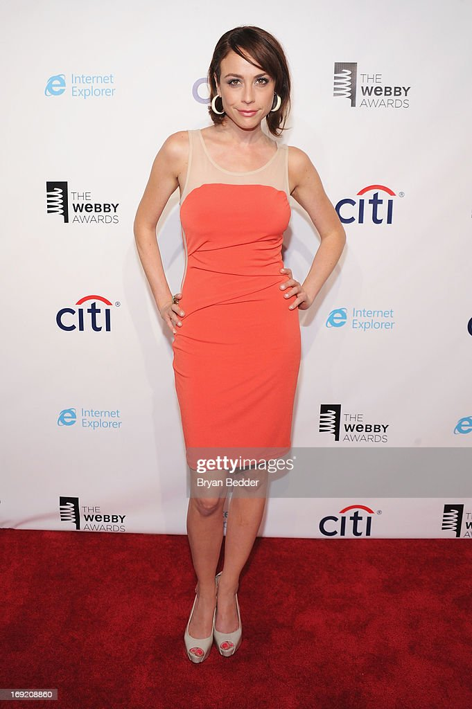 Shira Lazar attends the 17th Annual Webby Awards at Cipriani Wall Street on May 21, 2013 in New York City.