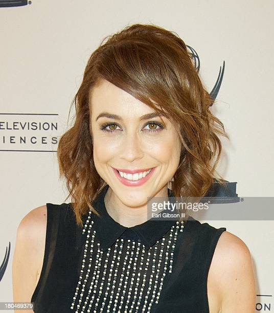 Shira Lazar attends the Interactive Media Peer Group Executive Committee's Cocktail Party at Academy of Television Arts & Sciences on September 12,...