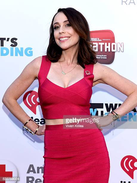 Shira Lazar of What's Trending attends What's Trending's Fourth Annual Tubeathon Benefitting American Red Cross at iHeartRadio Theater on April 20,...