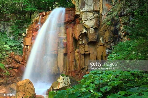 Shirafuji waterfall, Hokkaido