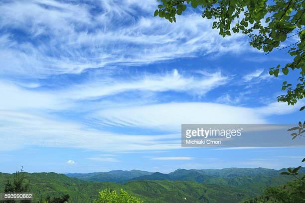 shirakami mountain range - aomori prefecture stock pictures, royalty-free photos & images