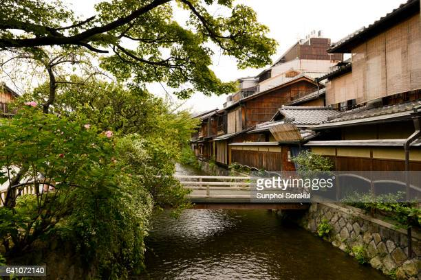 Shirakawa Canal in Gion