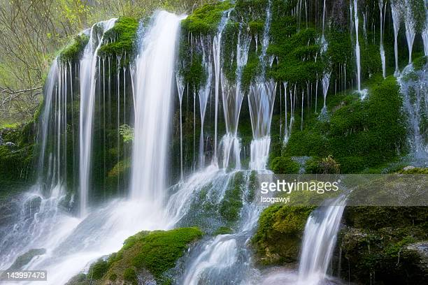 shiramizu-falls - isogawyi stock pictures, royalty-free photos & images