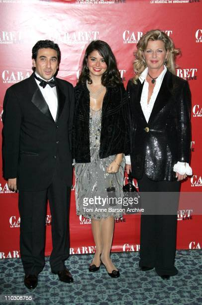 Shirel Jaoui with her Husband and her mother Jeane Manson