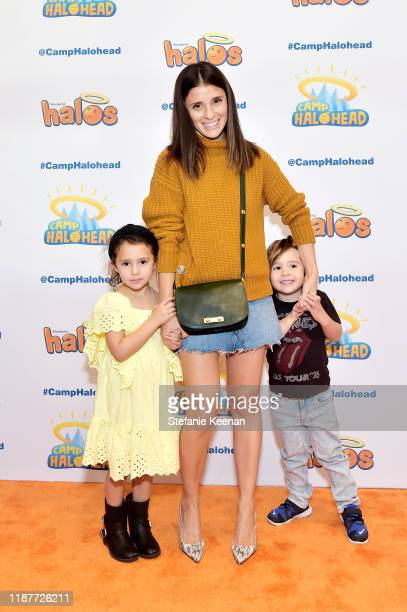 """Shiri Appleby and children attend """"Camp Halohead"""" Animated Entertainment YouTube Series Launch Party at Cayton Children's Museum on November 14, 2019..."""