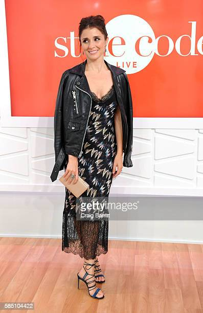Shiri Appleby appears on Amazon's Style Code Live on August 1 2016 in New York City