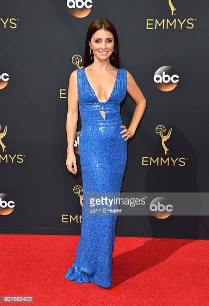 Shiri Appleby arrives at the 68th Annual Primetime Emmy Awards at Microsoft Theater on September 18 2016 in Los Angeles California