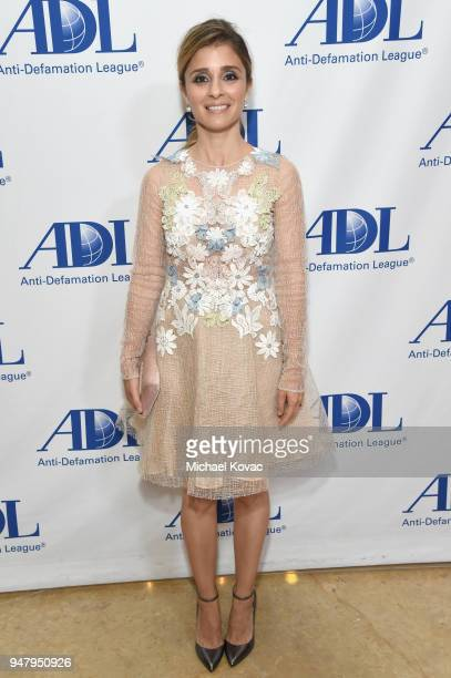 Shiri Appleby attends the AntiDefamation League Entertainment Industry Dinner at The Beverly Hilton Hotel on April 17 2018 in Beverly Hills California