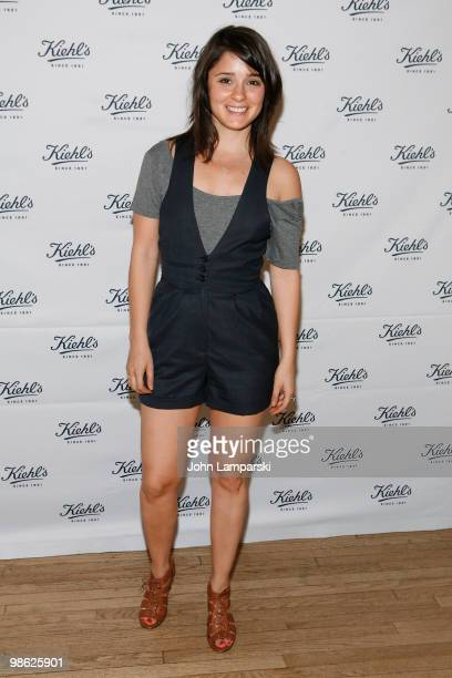 Shiri Appleby attends the unveiling of Limited Edition Kiehl's Acai DamageProtecting Toning Mists to benefit the Rainforest Alliance at the Kiehl's...