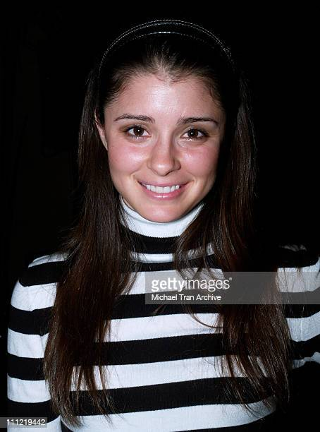 Shiri Appleby during Charlotte Ronson's 2006 Fall/Winter Fashion Show and After Party at Roosevelt Hotel in Hollywood California United States