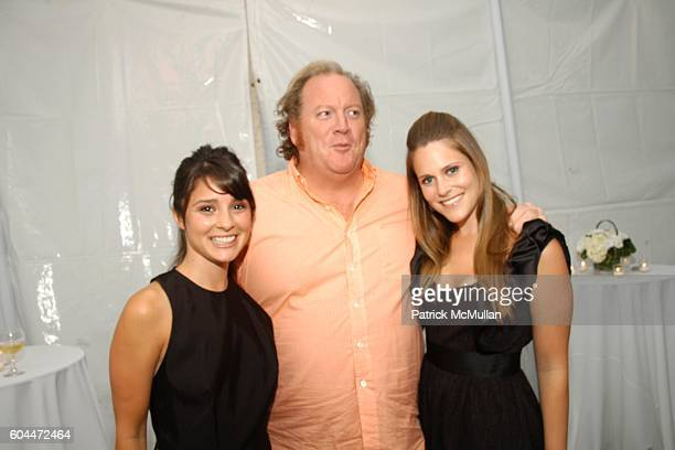 Shiri Appleby John Carrabino and Kristin Eberts attend Opening of AURA hosted by Kristin Eberts and Amy Smart at Los Angeles on August 16 2006