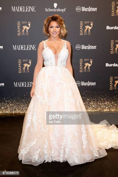 Shirin David arrives at the Bambi Awards 2017 at Stage Theater on November 16 2017 in Berlin Germany
