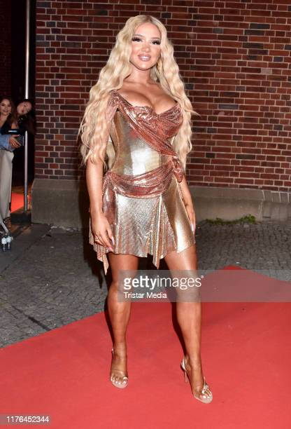 Shirin David attends the release party of Shirin David's debut album Supersize at eWerk on September 20 2019 in Berlin Germany