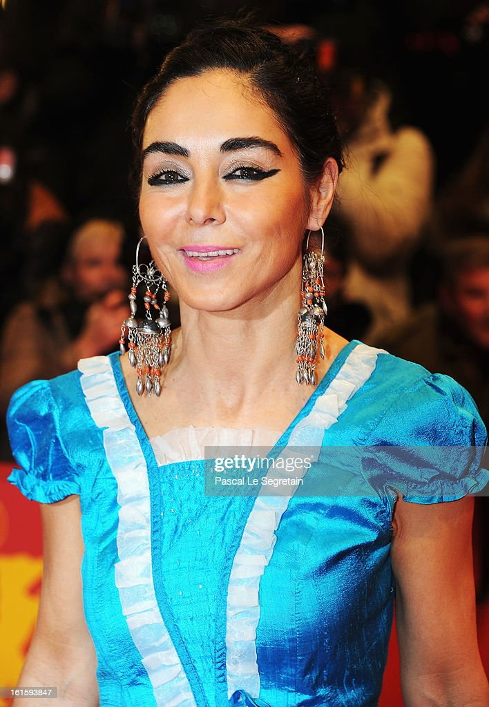 Shirin Neshat attends the 'Side Effects' Premiere during the 63rd Berlinale International Film Festival at Berlinale Palast on February 12, 2013 in Berlin, Germany.