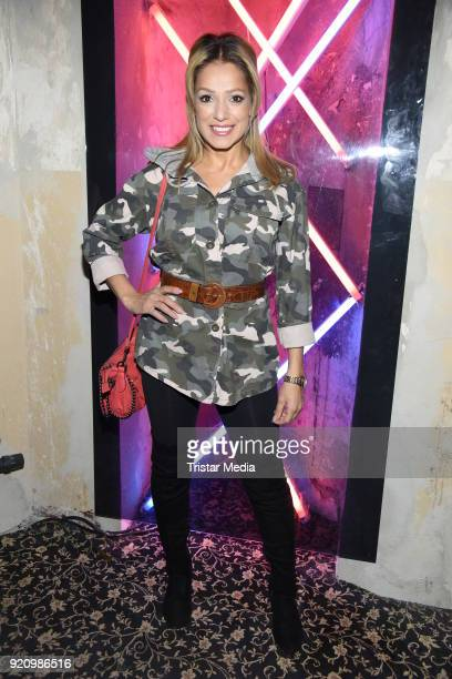 Shirin Tabatabai during the Pantaflix Panta Party on February 19 2018 in Berlin Germany