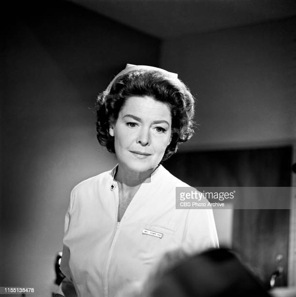 """Shirl Conway stars in """"The Nurses,"""" a CBS television hospital medical drama series, Later titled as: The Doctors and the Nurses. Episode: The Third..."""