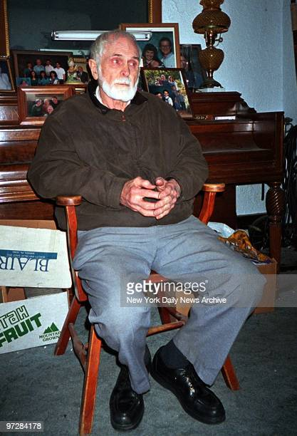 Shirl Mitchell, the father of Brian Mitchell, in the living room of his house in Salt Lake City. Brian Mitchell a homeless street preacher who called...