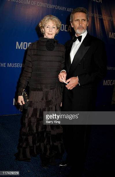 Shirlee Fonda and guest during The Museum Of Contemporary Art Celebrates 25th Anniversary Arrivals at MOCA at the Geffen Contemporary in Los Angeles...
