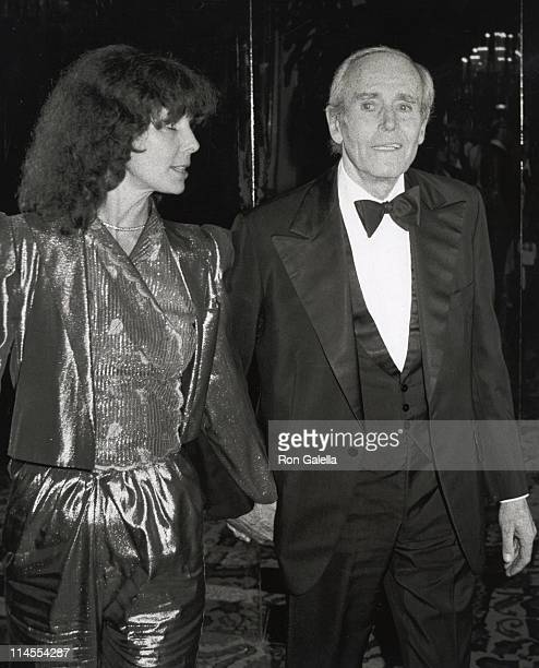 Shirlee Fonda and Henry Fonda during AFI Salute to James Stewart at The Beverly Hilton Hotel in Beverly hills California United States