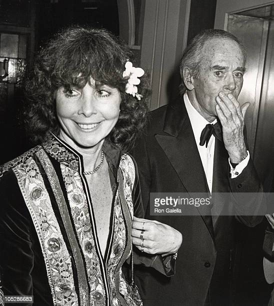 Shirlee Fonda and Henry Fonda during American Film Institute Salute to Henry Fonda 1978 at Beverly Hilton Hotel in Beverly Hills California United...