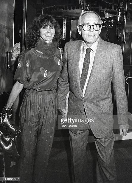 Shirlee Fonda and Henry Fonda during Party For Henry Fonda at New York New York Disco in New York City NY United States