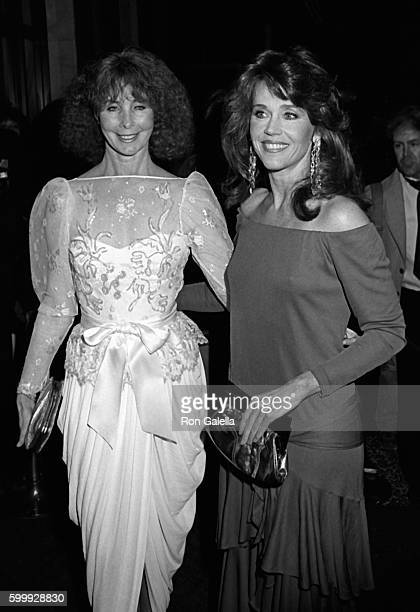 Shirlee Fonda and Jane Fonda attend American Ballet Theater Benefit Gala on March 5 1984 at the Beverly Wilshire Hotel in Beverly Hills California