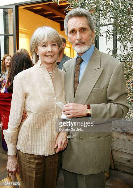 Shirlee Fonda and Robert Wolders attend the Pamela Fioris book signing presented by Ralph Lauren on April 21 2009 in Los Angeles California