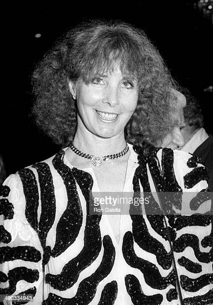 Shirlee Fonda attends 12th Annual American Film Institute Lifetime Achievement Awards Honoring Lilian Gish on March 1 1984 at the Beverly Hilton...