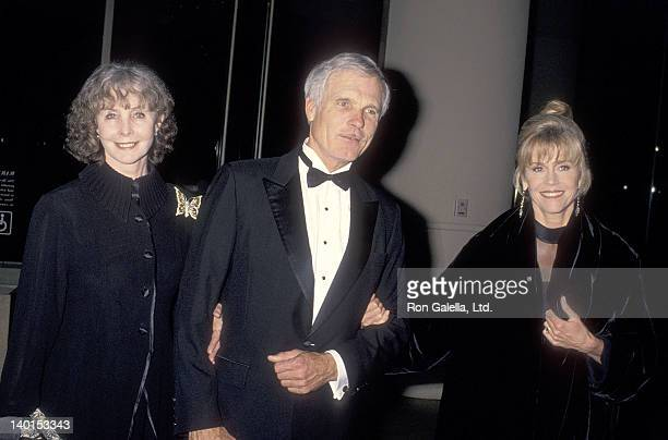 Shirlee Fonda businessman Ted Turner and actress Jane Fonda attend the American Friends of the Hebrew University's 25th Annual Scopus Award Salute to...