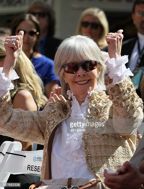 Shirlee Mae Adams attends actress Jane Fonda's Handprint/Footprint Ceremony during the 2013 TCM Classic Film Festival at TCL Chinese Theatre on April...